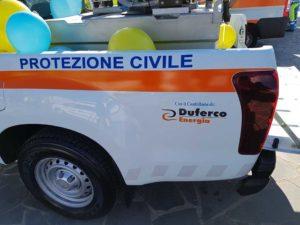 Particolare pick-up Misericordia Viareggio - Duferco Energia