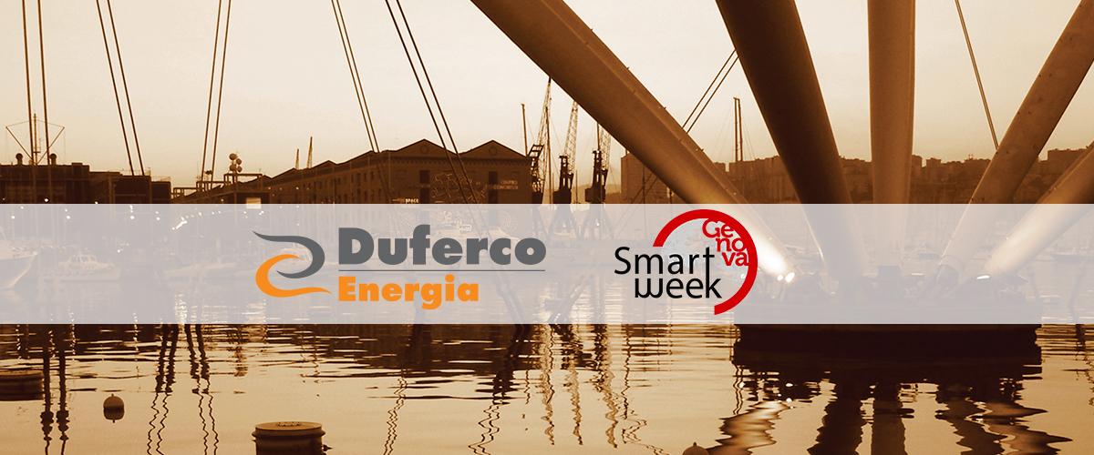 DUFERCO ENERGIA, TRA I PROTAGONISTI A GENOVA SMART WEEK